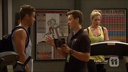 Mark Brennan, Josh Willis, Amber Turner in Neighbours Episode 7144
