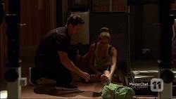 Josh Willis, Amber Turner in Neighbours Episode 7144