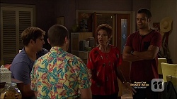 Kyle Canning, Toadie Rebecchi, Susan Kennedy, Nate Kinski in Neighbours Episode 7145