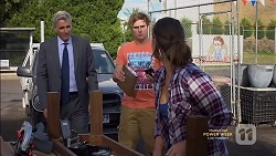 Trevor McCann, Kyle Canning, Amy Williams in Neighbours Episode 7146