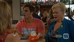 Sharon Canning, Kyle Canning, Sheila Canning in Neighbours Episode 7147