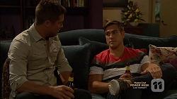 Mark Brennan, Aaron Brennan in Neighbours Episode 7148