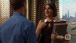 Paul Robinson, Naomi Canning in Neighbours Episode 7148
