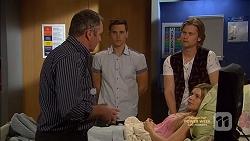 Karl Kennedy, Josh Willis, Daniel Robinson, Amber Turner in Neighbours Episode 7148