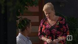 Mark Brennan, Sheila Canning in Neighbours Episode 7148