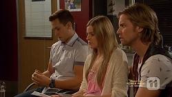 Josh Willis, Amber Turner, Daniel Robinson in Neighbours Episode 7149