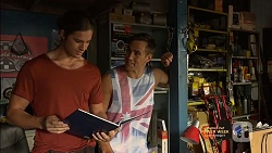 Tyler Brennan, Aaron Brennan in Neighbours Episode 7149
