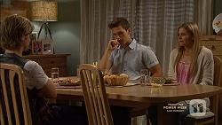 Daniel Robinson, Josh Willis, Amber Turner in Neighbours Episode 7149