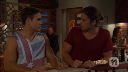 Aaron Brennan, Tyler Brennan in Neighbours Episode 7149