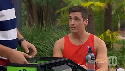 Josh Willis, Conrad Leveson in Neighbours Episode 7150
