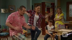 Toadie Rebecchi, Amy Williams, Jimmy Williams, Sonya Mitchell in Neighbours Episode 7150