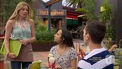 Amber Turner, Imogen Willis, Josh Willis in Neighbours Episode 7150