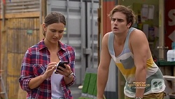 Amy Williams, Kyle Canning in Neighbours Episode 7150
