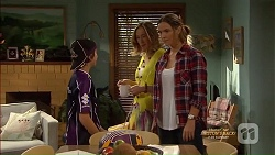 Jimmy Williams, Sonya Mitchell, Amy Williams in Neighbours Episode 7150