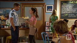 Mark Brennan, Paige Novak, Jayden Warley in Neighbours Episode 7151