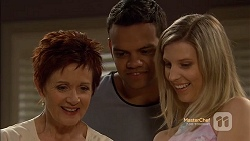 Susan Kennedy, Nate Kinski, Coco Lee in Neighbours Episode 7151