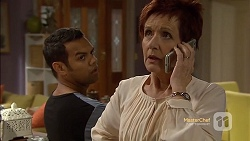 Nate Kinski, Susan Kennedy in Neighbours Episode 7151