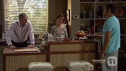 Karl Kennedy, Susan Kennedy, Nate Kinski in Neighbours Episode 7152