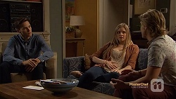 Josh Willis, Amber Turner, Daniel Robinson in Neighbours Episode 7152