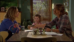 Sonya Mitchell, Nell Rebecchi, Amy Williams in Neighbours Episode 7153