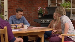 Josh Willis, Amber Turner, Daniel Robinson in Neighbours Episode 7153