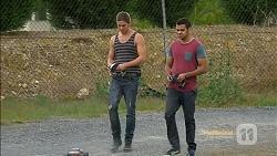 Tyler Brennan, Nate Kinski in Neighbours Episode 7154