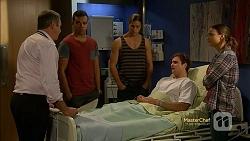 Karl Kennedy, Nate Kinski, Tyler Brennan, Kyle Canning, Amy Williams in Neighbours Episode 7154
