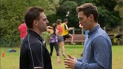 Forrest Jones, Josh Willis in Neighbours Episode 7154