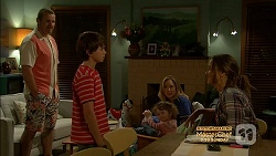 Toadie Rebecchi, Jimmy Williams, Nell Rebecchi, Sonya Mitchell, Amy Williams in Neighbours Episode 7155