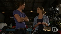 Tyler Brennan, Amy Williams in Neighbours Episode 7155