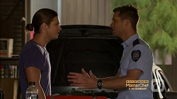 Tyler Brennan, Mark Brennan in Neighbours Episode 7155