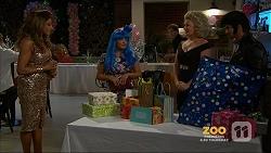Mary Smith, Terese Willis, Lauren Turner, Brad Willis in Neighbours Episode 7158