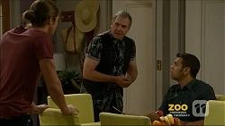 Tyler Brennan, Karl Kennedy, Nate Kinski in Neighbours Episode 7158