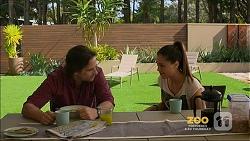 Brad Willis, Paige Novak in Neighbours Episode 7158