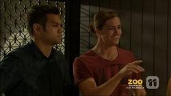 Nate Kinski, Tyler Brennan in Neighbours Episode 7158