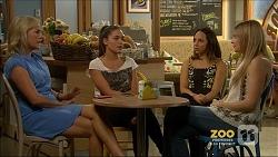Lauren Turner, Paige Novak, Imogen Willis, Amber Turner in Neighbours Episode 7159