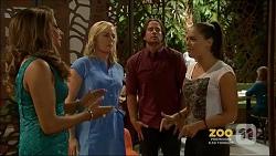 Mary Smith, Lauren Turner, Brad Willis, Paige Novak in Neighbours Episode 7159