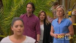 Paige Novak, Brad Willis, Terese Willis, Lauren Turner in Neighbours Episode 7159