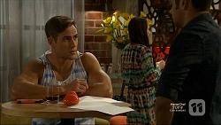 Aaron Brennan, Nate Kinski in Neighbours Episode 7160