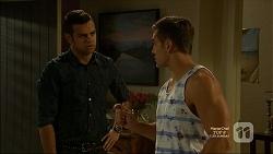 Nate Kinski, Aaron Brennan in Neighbours Episode 7160