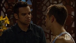 Nate Kinski, Aaron Brennan in Neighbours Episode 7161