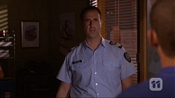 Senior Sergeant Milov Frost in Neighbours Episode 7161