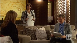 Terese Willis, Naomi Canning, Paul Robinson in Neighbours Episode 7162