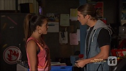 Paige Novak, Tyler Brennan in Neighbours Episode 7162