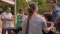 Toadie Rebecchi, Sonya Mitchell, Amy Williams, Jimmy Williams, Kyle Canning in Neighbours Episode 7163