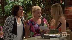 Naomi Canning, Sheila Canning, Amber Turner in Neighbours Episode 7163