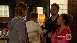 Daniel Robinson, Forrest Jones, Imogen Willis in Neighbours Episode 7163