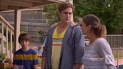 Jimmy Williams, Kyle Canning, Amy Williams in Neighbours Episode 7163