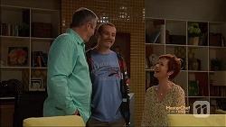 Karl Kennedy, Toadie Rebecchi, Susan Kennedy in Neighbours Episode 7164