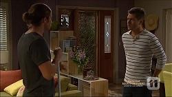 Tyler Brennan, Mark Brennan in Neighbours Episode 7165